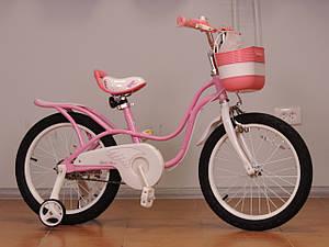 "Детский велосипед 18"" Royal Baby Little Swan"