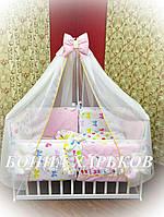 Комплект детского белья Bonna разноцветный Горох
