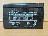 Аккумулятор Leoch DJW12-7.2 для ИБП  12В 7.2А/ч