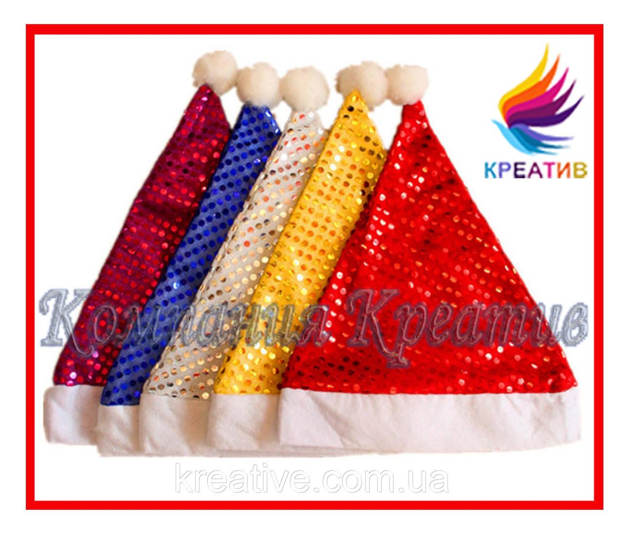 Новогодние шапочки из флиса под заказ (от 50 шт.)