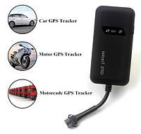 Автомобильный GPS трекер GT02 (TK110), GSM GPRS с системой блокировки двигателя (в коробке)
