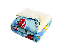 Детское одеяло/одна сторона мех