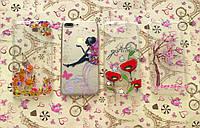 TPU чехол с картинками для Apple iPhone 7 Plus (4 вида)
