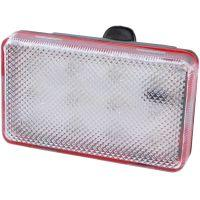 Задний фонарь для велосипеда (12-LED, 7 режимов, 3xAAA)