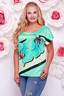 Женская футболка большого размера Beauty 50-56 размеры