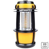 Кемпинговый фонарь (20 LED, 300  люмен, регулировка яркости, 3xD)