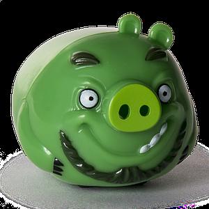 Angry Birds: свинка Леонард на колесиках SM90500-4 Spin Master