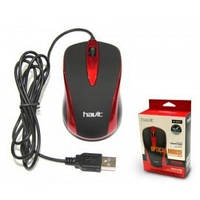 Проводная компьютерная мышь HAVIT HV-MS675 USB red