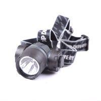 Фонарь налобный GP Discovery LOE205 (LED 0.5W + red LED, 30 люмен, 2 режима, 3xAAA)