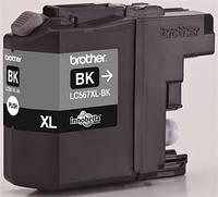 Черный картридж brother lc567xlbk black xl повышенной емкости