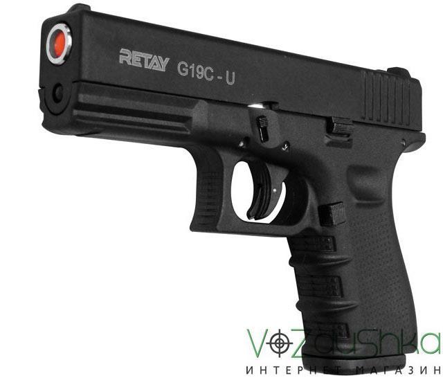 Стартовый пистолет Retay 19 black