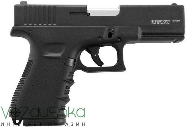 Сигнально шумовой пистолет G19C black