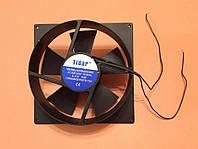 Вентилятор осевой универсальный Tidar 200мм*200мм*60мм / 220-240V / 0,31А / 54W (КРУГЛО-КВАДРАТНЫЙ)