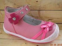 Детские туфли  для девочек размеры 21-25