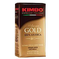 Молотый кофе Kimbo Aroma Gold 100% Arabica 250 гр