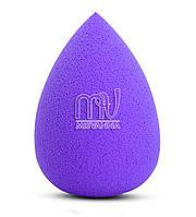 Губка (спонж) для лица, маленькая, фиолетовый