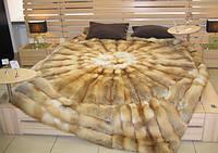 Эксклюзивное покрывало из меха лисы может стать подарком мужчине - любимому, шефу, начальнику, подарком директору, руководителю.
