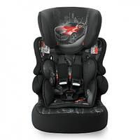 Детское автокресло Bertoni X-DRIVE+ (9-36кг) (black-red car)