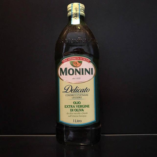 Итальянское оливковое масло Monini Delicato (Монини Деликато) 1л