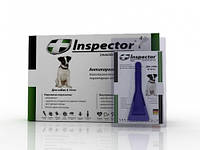 Капли Inspector от 14 внеш. и внутр. паразитов для собак 4-10 кг