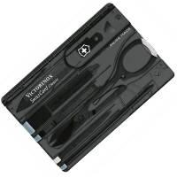 Набор Victorinox SWISSCARD  (82х54х4мм, 9 функций), черный прозрачный 0.7133.T3