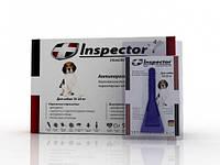 Капли Inspector от 14 внеш. и внутр. паразитов для собак 10-25 кг