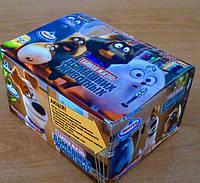 Жевательная резинка с наклейкой, блок 100 шт (bubble gum with sticker)