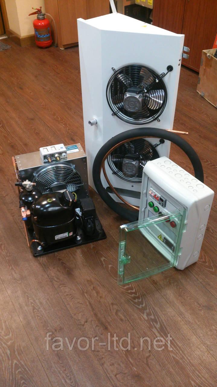 Сплит-система для холодильных камер