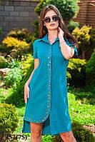 Платье рубашка женское 457 (75)