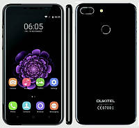 Смартфон ORIGINAL Oukitel U20 Plus Black (4 Core; 1,3Ghz; 2GB/16GB; 3300 mAh)