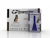 Капли Inspector от 14 внеш. и внутр. паразитов для собак 25-40 кг