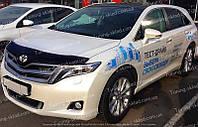 Дефлектор Тойота Венза (мухобойка на капот Toyota Venza)