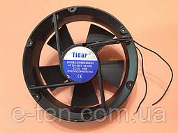 Вентилятор осьовий універсальний Tidar 225мм*225мм*60мм / 220-240V / 0,31 А / 54W (КРУГЛИЙ)