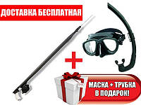Ружье omer airbalete black 100 см черный без катушки
