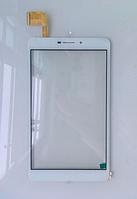 Оригинальный тачскрин / сенсор (сенсорное стекло) Nomi C070020 Corsa Pro (белый, FPCA-70A23-V01, самоклейка)