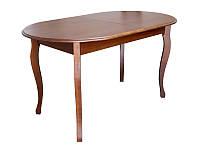 Стол раскладной Эльза из бука 80х140+40