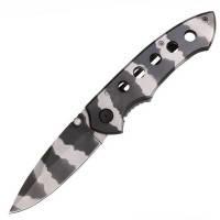 Нож складной Camo One Hand (длина: 19.5сm, лезвие: 8.0cm)