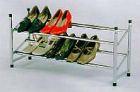 Полка для обуви хромированная телескопическая SR-0222