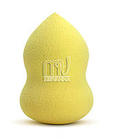 Губка (спонж) для лица, большая,  желтая