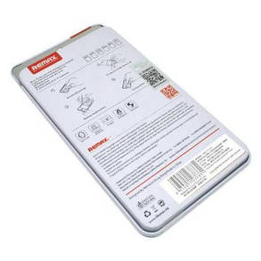 Original! 2шт в комплеке! Стекло 0.2mm Remax Alu Double 2*Tempered Glass iPhone 6/6s, фото 2
