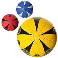 2500-17ABC, футбольный мяч, размер 5, полиуретан 1,4 мм, 4 слоя, все 400-420 г, 32 панели, цвет на выбор
