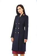 Женское пальто ПВ-27 Синий, фото 1