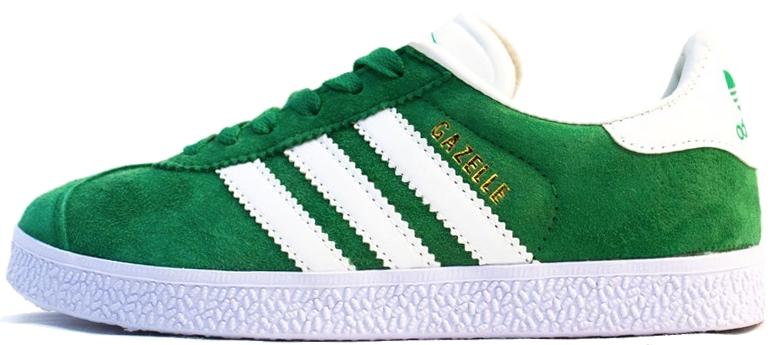 Мужские кроссовки Adidas Gazelle OG Green, Адидас Газели