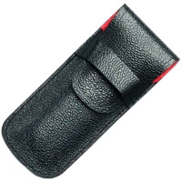 Чехол для ножей Victorinox (91-93мм, 1-2 слоя) кожаный, черный 4.0736