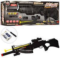 Игрушечное оружие: арбалет-ружье H7A, прицел, лазер, стрела-присоска, водяные пули, 83 см, от 6 лет