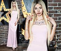 """Вечернее женское платье макси """"Богема"""""""