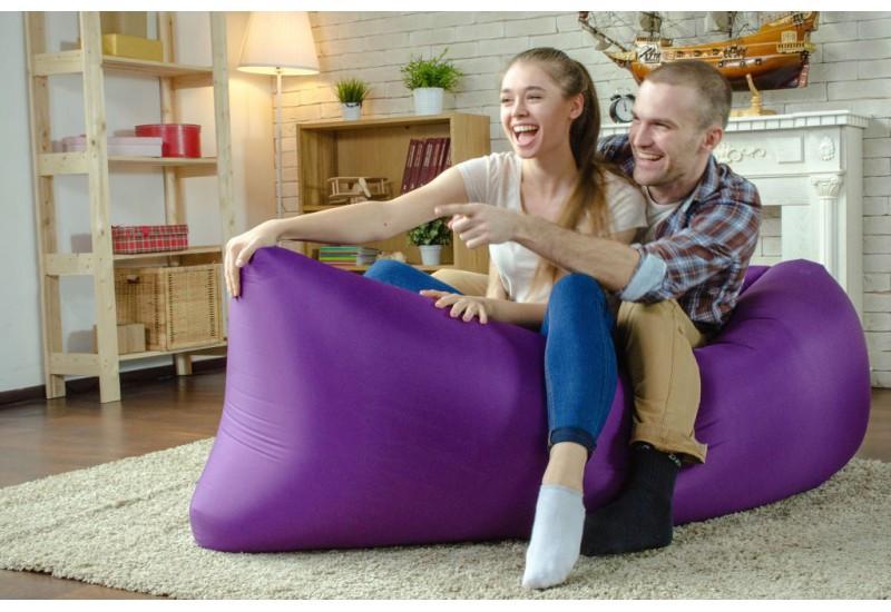 Надувной шезлонг диван мешок