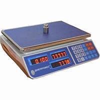 Весы торговые с поверкой ВТД. 6; 15; 30кг.