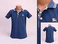 Фирменная футболка Поло для мальчика 6,9 лет  Burberry