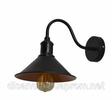 Светильник  LOFT настенный   Лофт  22Б  черный